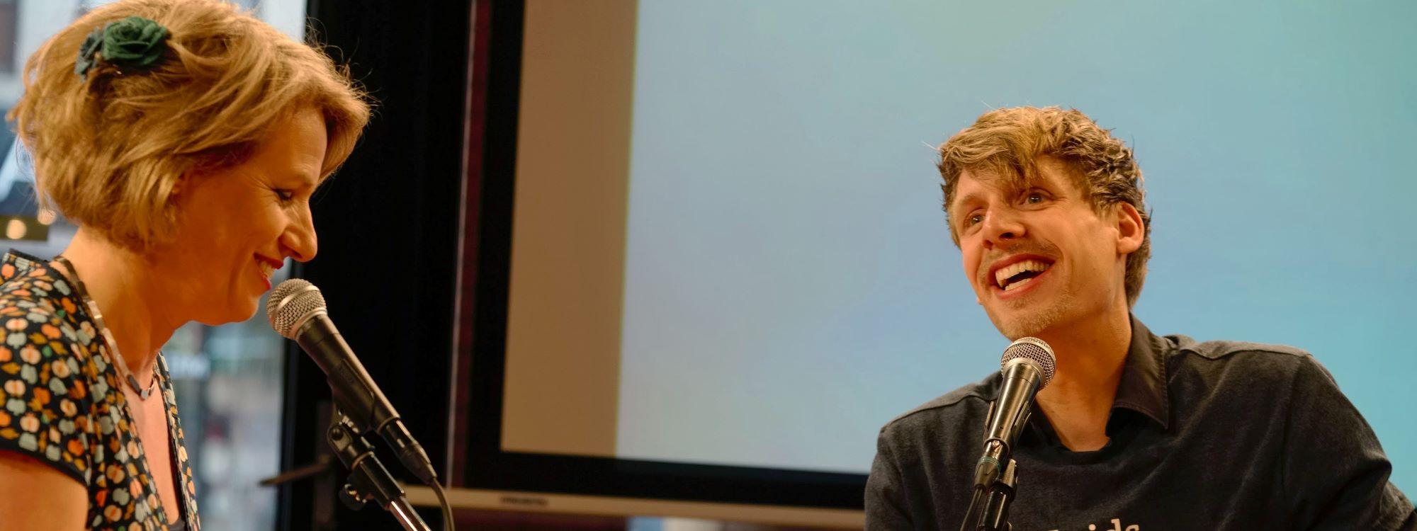 Anemoon Langenhoff   interviewer