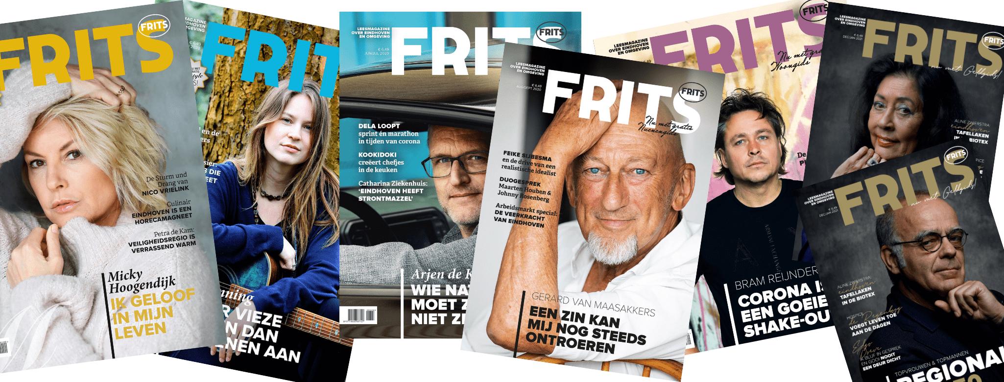 Anemoon Langenhoff FRITS Magazine covers