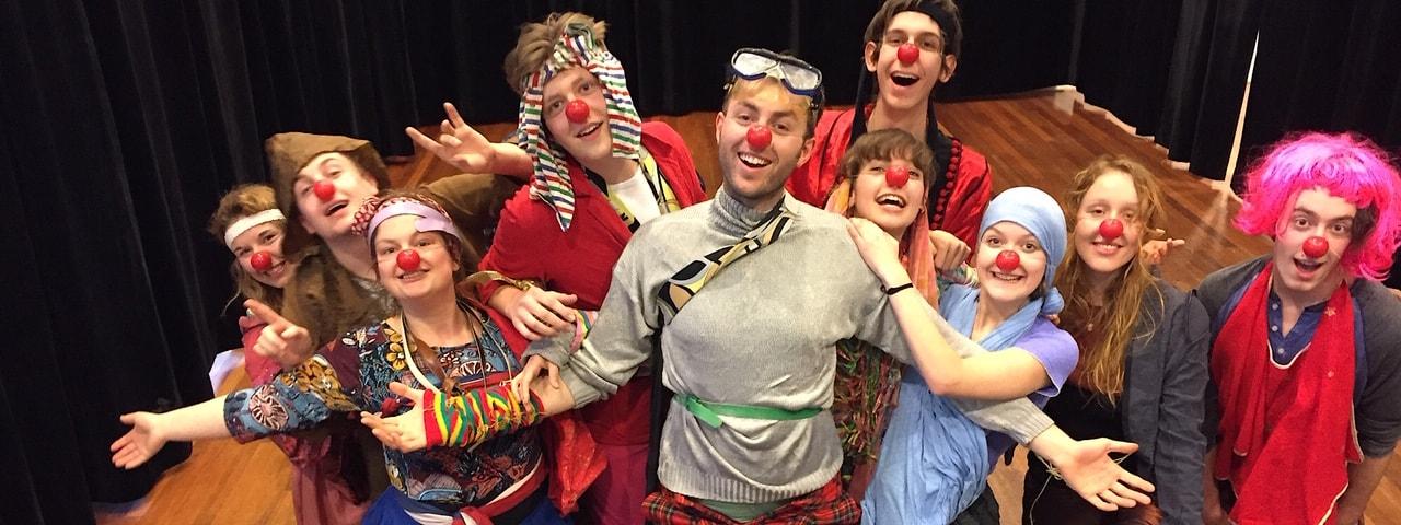 Anemoon Langenhoff clownerie Koningstheateracademie